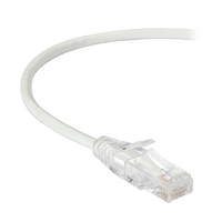CAT6 UTP Slim-Net Patch Cable, 28AWG, 250-MHz, PVC