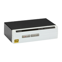 KV6202A: 2 port, (1) DisplayPort 1.2 (4K60), USB transparent, Audio