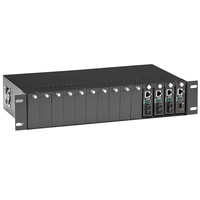 Media Converter Chassis 14-slot 2U