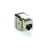 CAT6a Shielded Jack, T568B Wiring 4-Pair
