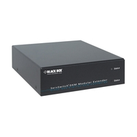 AMS9201A: Extender Kit, Multi- & Singlemode, (1) Single link DVI-D, bidirect. analog Audio + RS232 + (2) USB 2.0 (36Mbps)