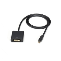 ENVMDPDVI-0003-MF: Video Cable, Mini DisplayPort to DVI, オス/メス, 0.9m