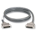 EDQ Cable with Metal Hood, DB25/DB25, EMI, 25 wires