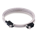 RS-232 Interlink cable serial/cross-wired DB25F/DB25F