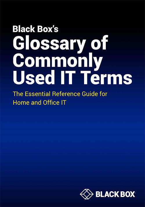 Black Box's Glossary of Commonly Used IT Terms(英語版)